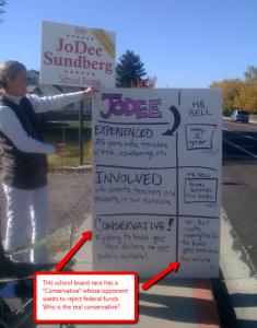 JoDee Sundberg Campaign Poster