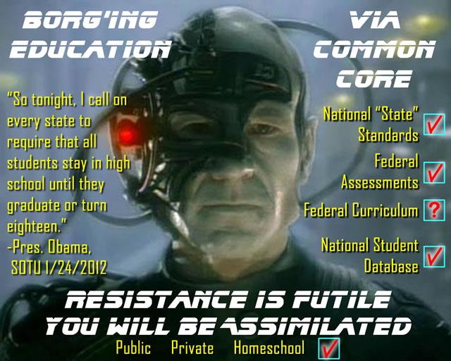 Borg'ing Education